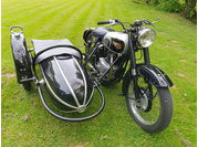 BSA A 10 Side Steib